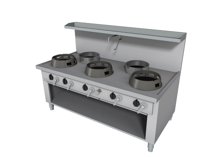 cuisini re wok mod le fs fs cc 05 05180090ba casta. Black Bedroom Furniture Sets. Home Design Ideas