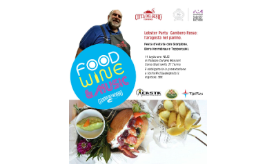 Nous participons au Lobster Party Gambero Rosso