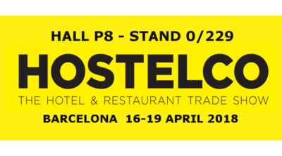 Nous allons exposer à la foire Hostelco 2018 à Barcelona