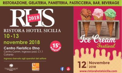 Saremo presenti al Ristora Hotel Sicilia a Catania